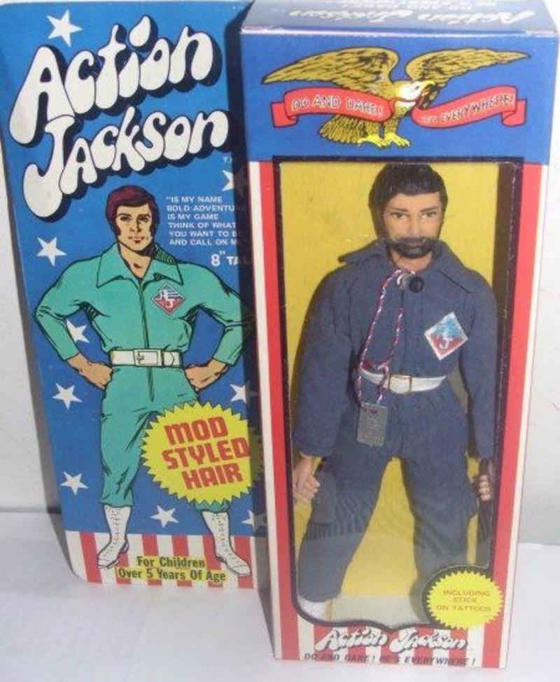 SCHEDA DI:Action jackson mego 84390410