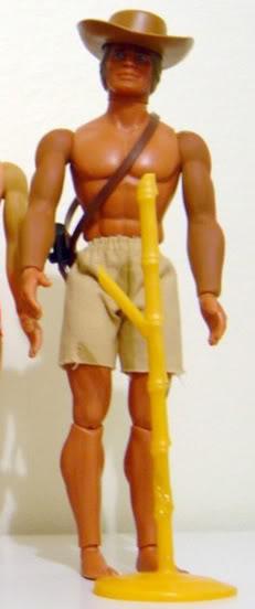 RESTAURO DI: ricolorare le braccia verdi di big jim(TUTORIAL) Basic111