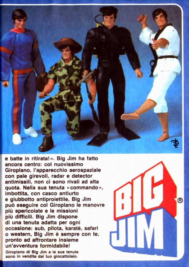 Pubblicità BIG JIM Big-ji12