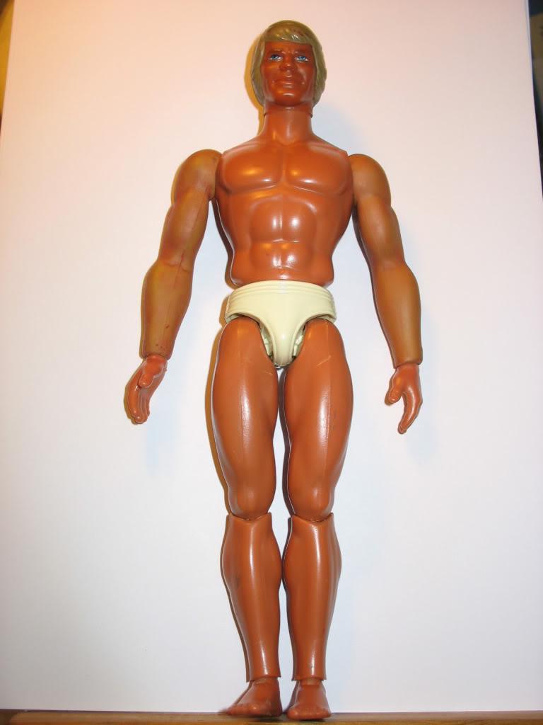 RESTAURO DI: ricolorare le braccia verdi di big jim(TUTORIAL) Jim611