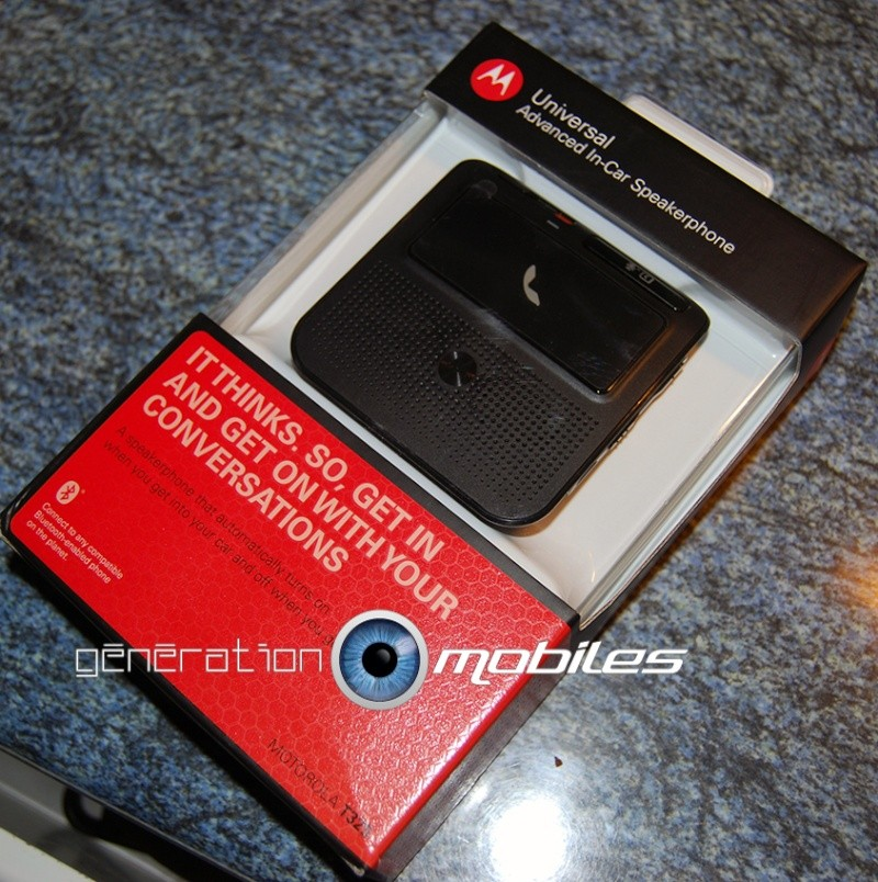 [MobileFun.Fr] Test du Kit Bluetooth voiture Advanced Visor T325 Motorola 110