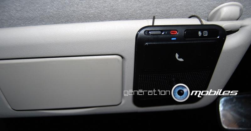 [MobileFun.Fr] Test du Kit Bluetooth voiture Advanced Visor T325 Motorola 410