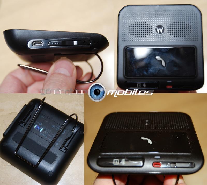 [MobileFun.Fr] Test du Kit Bluetooth voiture Advanced Visor T325 Motorola 510