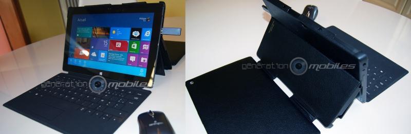 [SURFACE][NOREVE] Test housse cuir pour Microsoft Surface RT  Double11