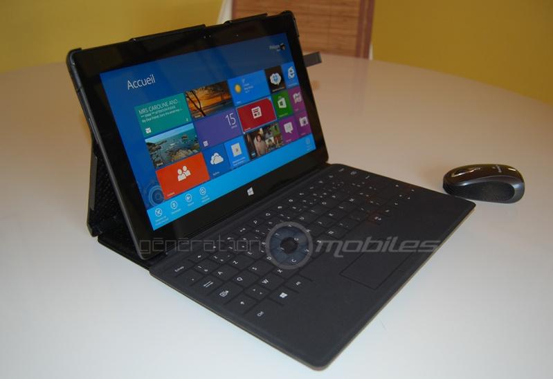 [SURFACE][NOREVE] Test housse cuir pour Microsoft Surface RT  Etui_e10
