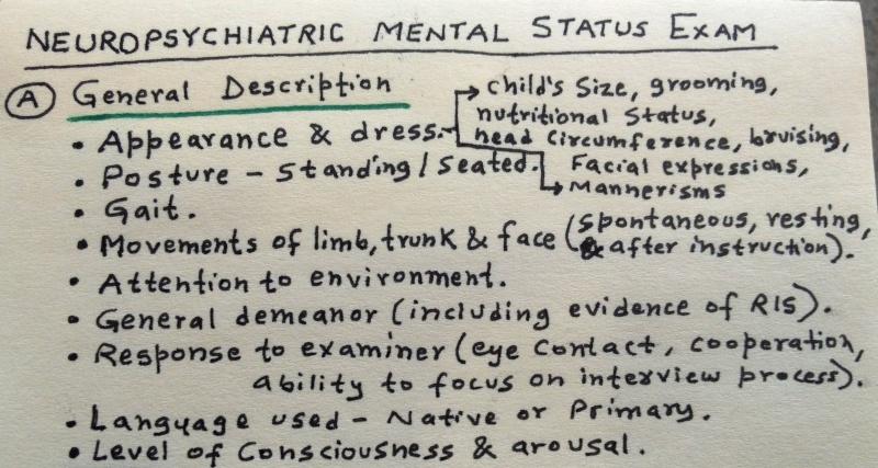 Child & Adolescent Neuropsychiatric Mental Status Exam Photo_10