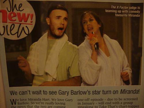 "Gary on Miranda Hart's sitcom ""Miranda"" 119"