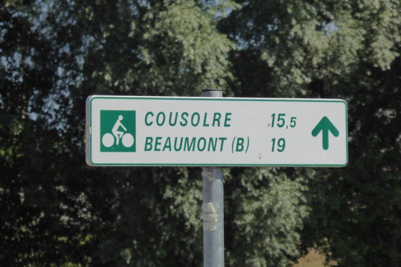 Liaison Voie verte de l'Avesnois - RAVeL L109 Beaumont.  2018-011