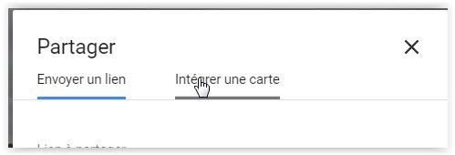 """Comment intégrer une """"google Maps"""" dans un message ? Image410"""