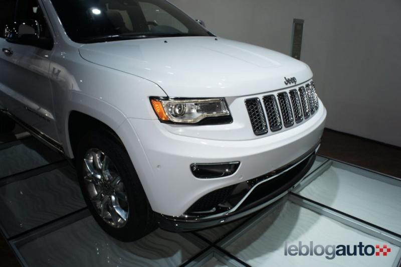 Détroit 2013 live : Jeep Grand Cherokee Salon_11