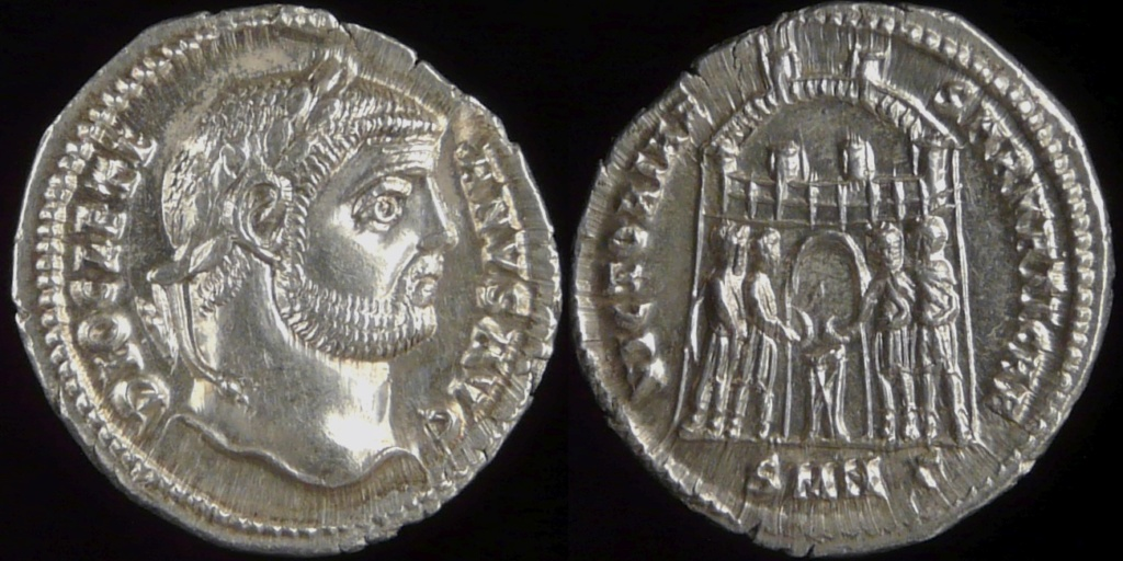 Argentei de la réforme de Dioclétien, que sont-ils devenus? 0560-210