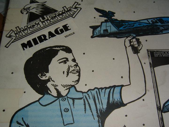 Silverhawks (KENNER) 1987 - 1988 Mirage12