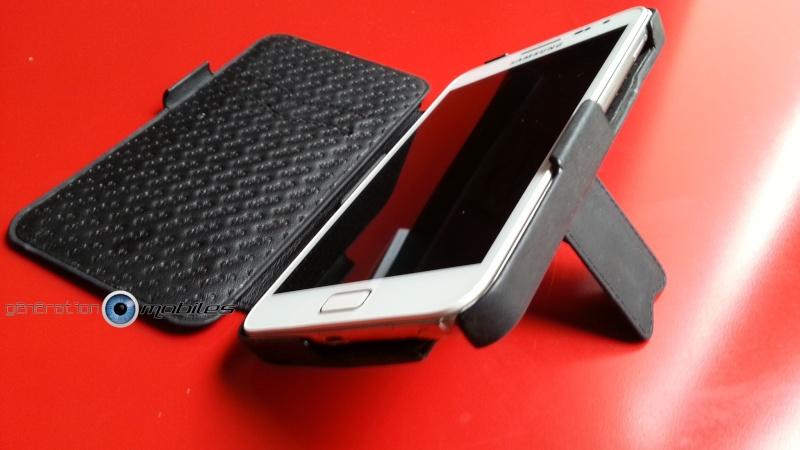 [NORÊVE] Test de la housse en cuir Norêve Modèle Traditon Gamme Exception pour Samsung Galaxy Note 1 20130132