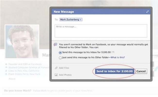 Dëshironi ti dërgoni mesazh Mark Zuckerberg, ju kushton 100$! 72860_10