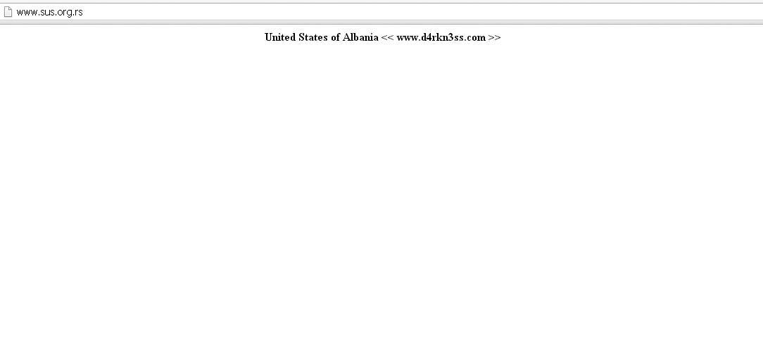 Hakerët shqiptarë në sulm: Thyhet faqja më e madhe e studentëve serbë Untitl10