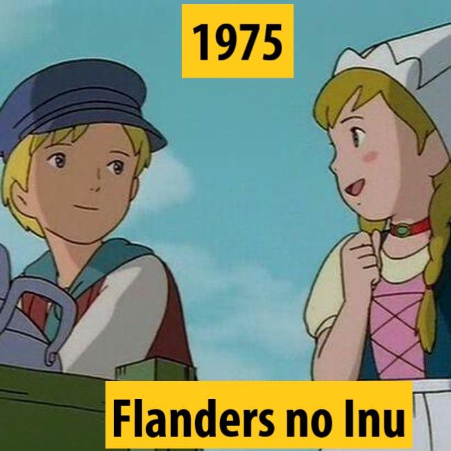 Quel anime célèbre a débuté l'année de votre naissance 1975-a10