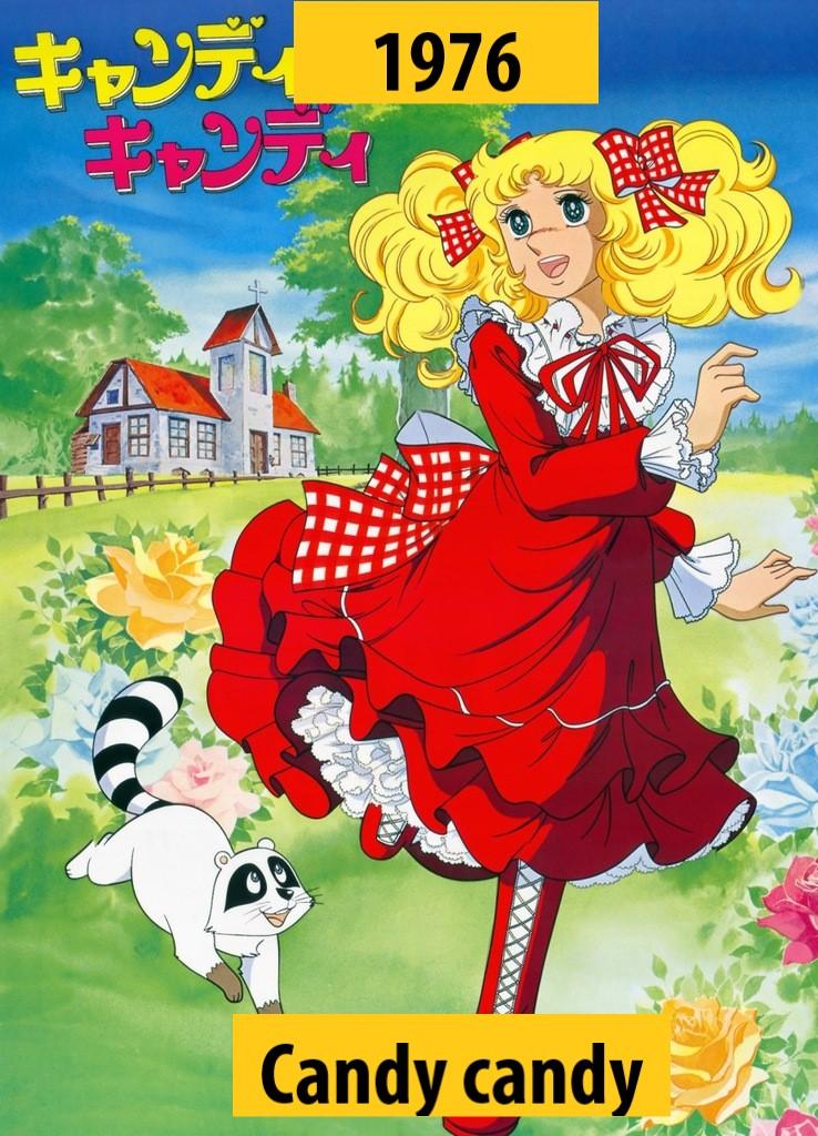 Quel anime célèbre a débuté l'année de votre naissance 197610
