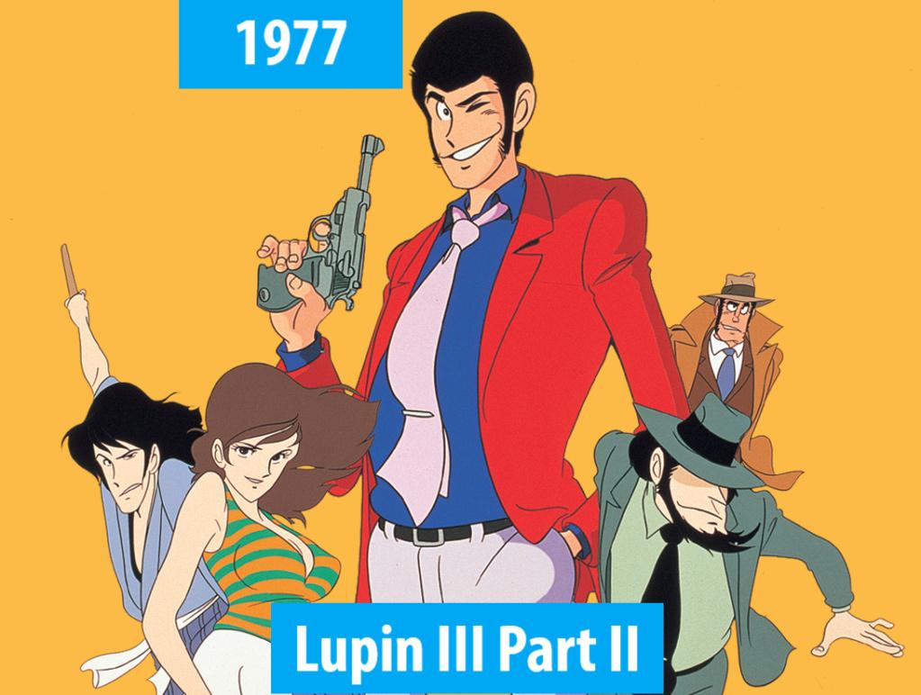 Quel anime célèbre a débuté l'année de votre naissance 197710