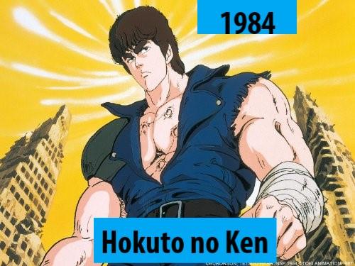 Quel anime célèbre a débuté l'année de votre naissance 198410
