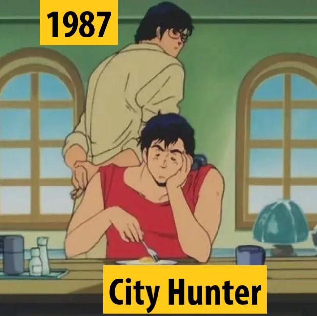 Quel anime célèbre a débuté l'année de votre naissance 1987-c10