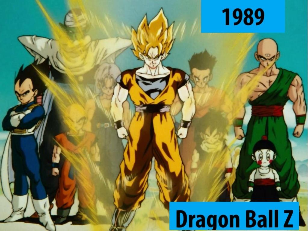 Quel anime célèbre a débuté l'année de votre naissance 198910