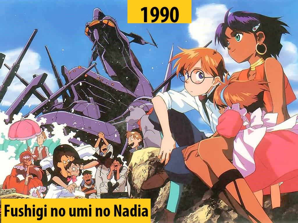 Quel anime célèbre a débuté l'année de votre naissance 199010