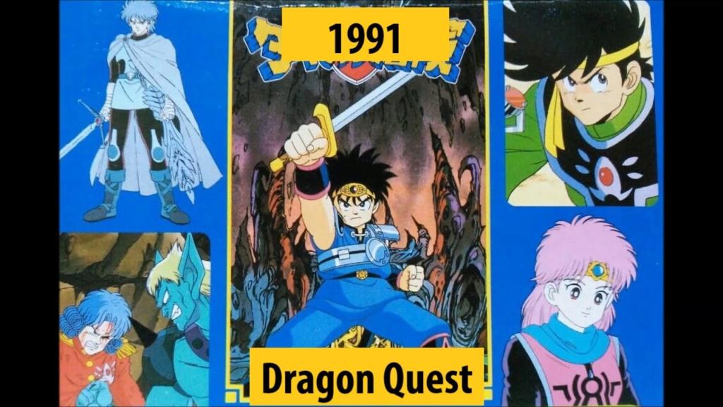 Quel anime célèbre a débuté l'année de votre naissance 199110