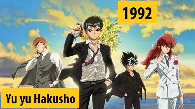 Quel anime célèbre a débuté l'année de votre naissance 1992-y10