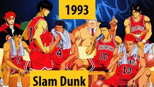 Quel anime célèbre a débuté l'année de votre naissance 199310
