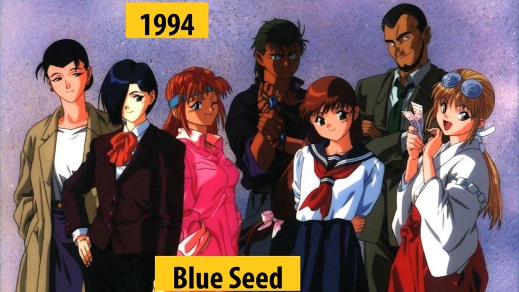 Quel anime célèbre a débuté l'année de votre naissance 199410
