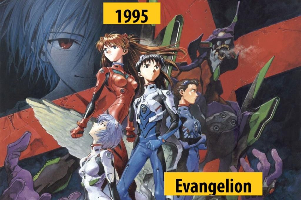 Quel anime célèbre a débuté l'année de votre naissance 199510