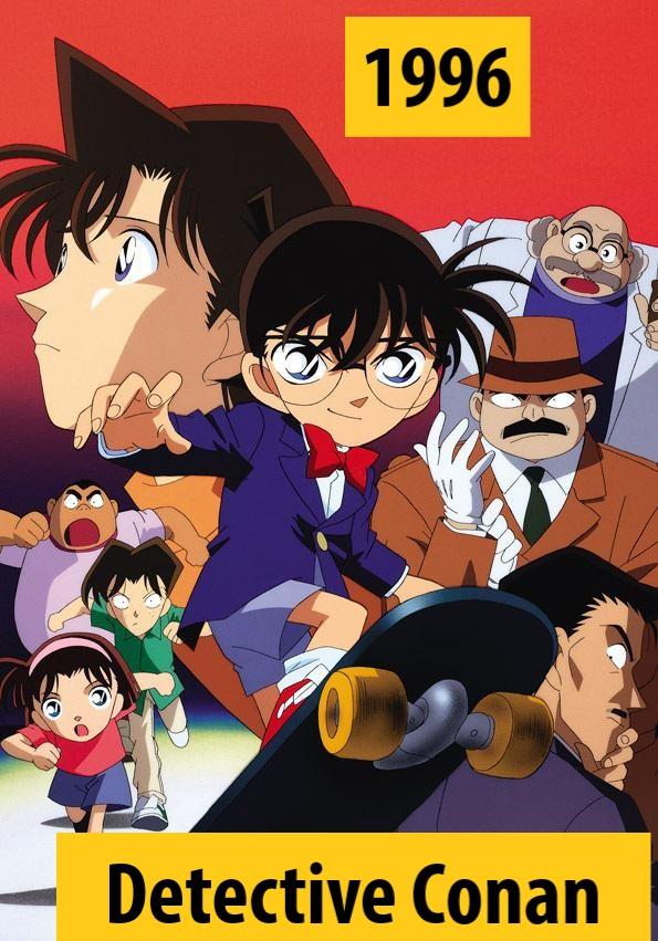 Quel anime célèbre a débuté l'année de votre naissance 1996-210