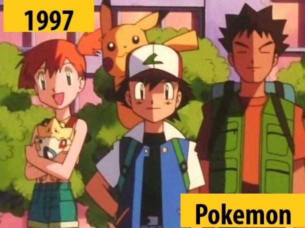 Quel anime célèbre a débuté l'année de votre naissance 199710