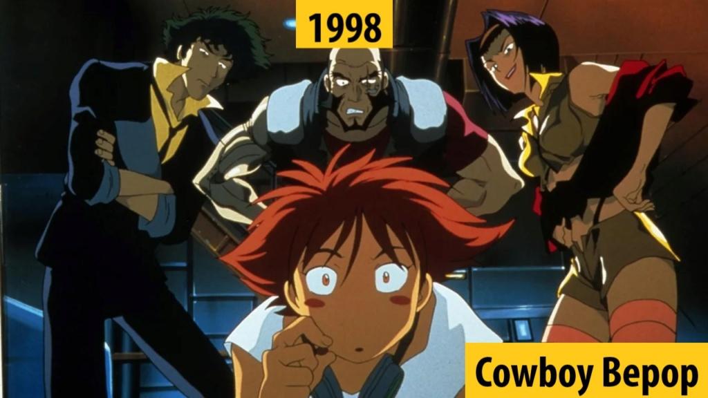 Quel anime célèbre a débuté l'année de votre naissance 199810