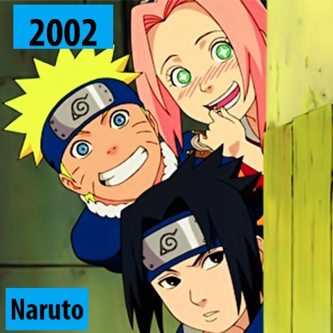 Quel anime célèbre a débuté l'année de votre naissance 2002-n10