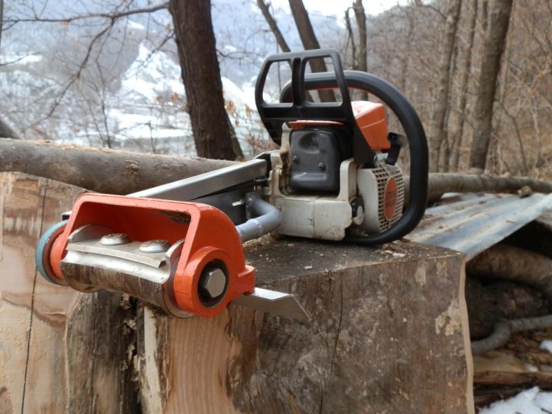 motoseghe con dotazioni da carpenteria legno Sco110