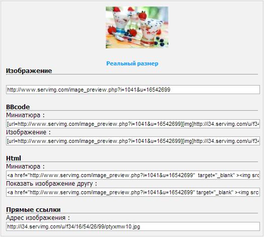 Как пользоваться хостингом изображений Servimg.com Snap0014