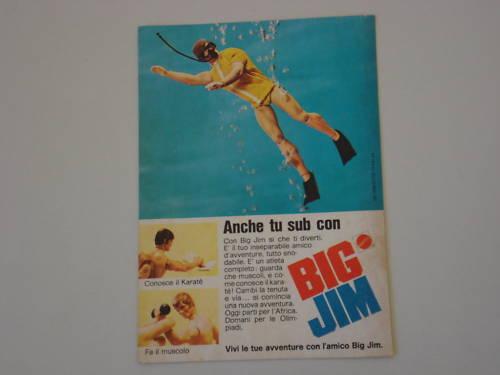 Pubblicità BIG JIM 124