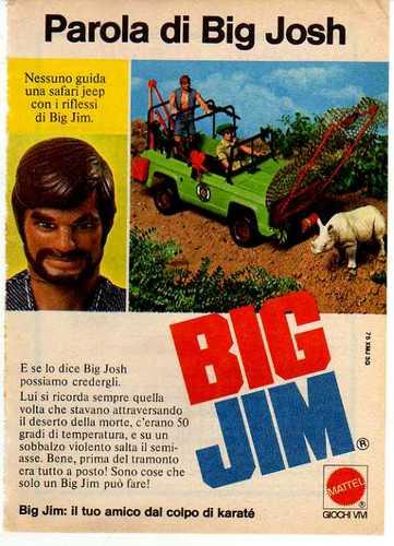 Pubblicità BIG JOSH 131