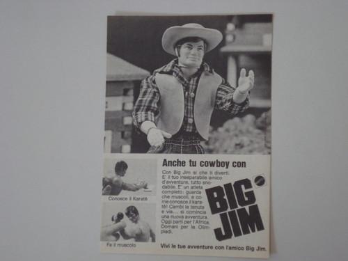 Pubblicità BIG JIM 1316