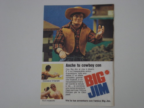 Pubblicità BIG JIM 2214