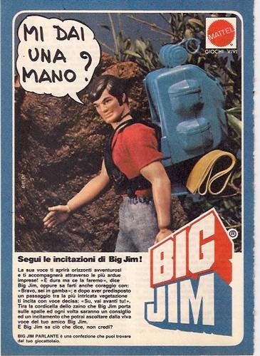 Pubblicità BIG JIM PARLANTE 231