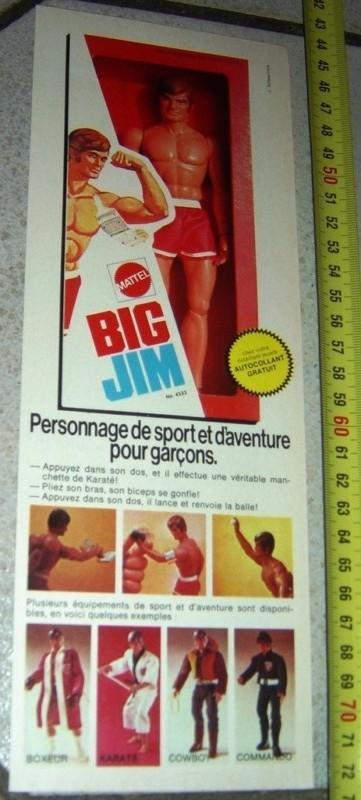 Pubblicità BIG JIM 2712