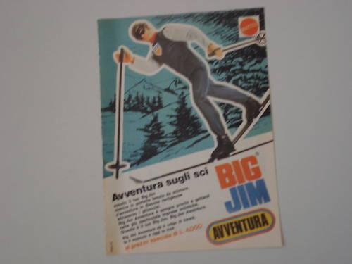 Pubblicità BIG JIM 721