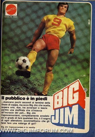 Pubblicità BIG JIM CAPOCANNONIERE Miscel19