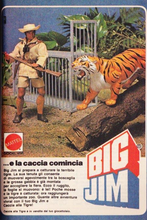 Pubblicità CACCIA ALLA TIGRE Tigre11