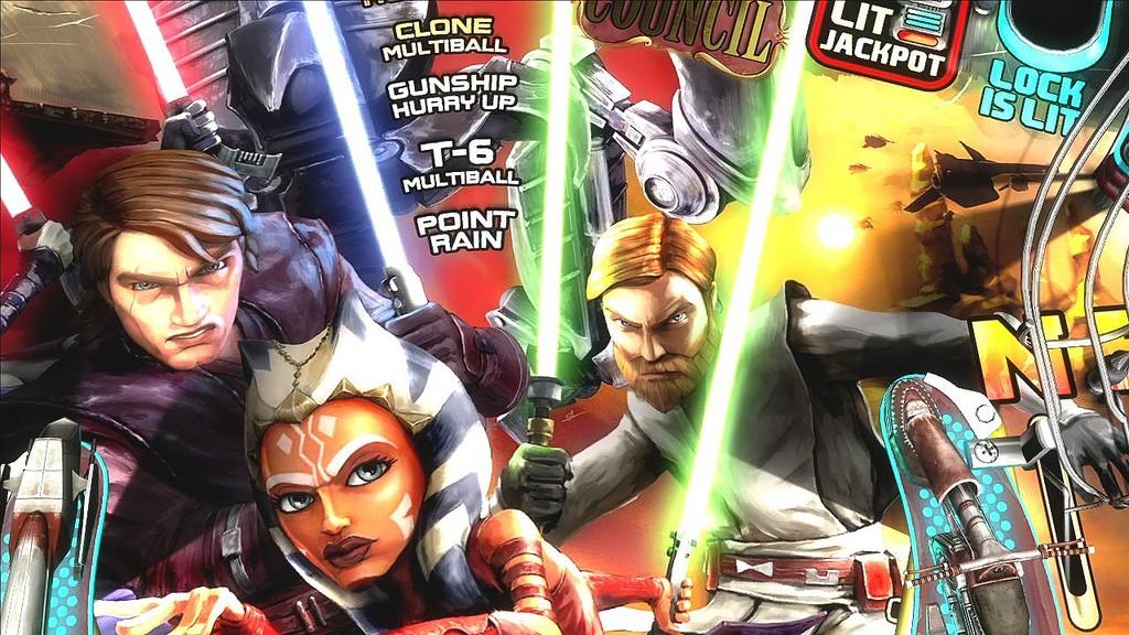 Star Wars Pinball Clonew14
