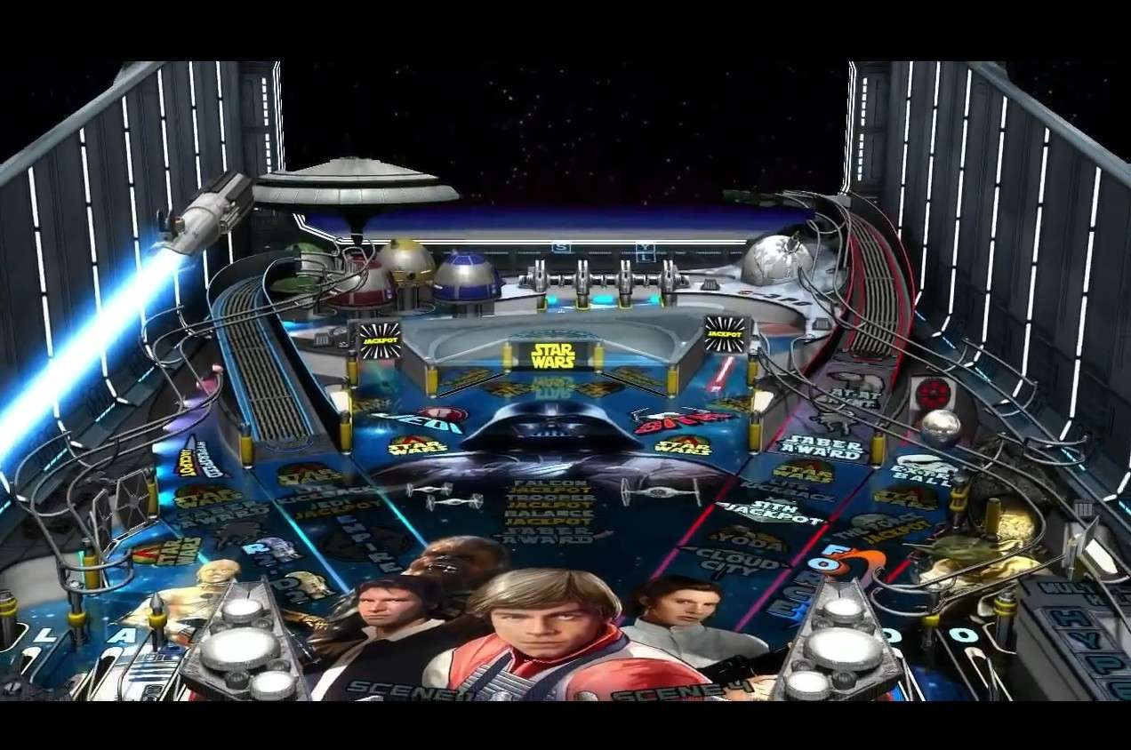 Nouvelle licence Lucasart : Star Wars Pinball Image112