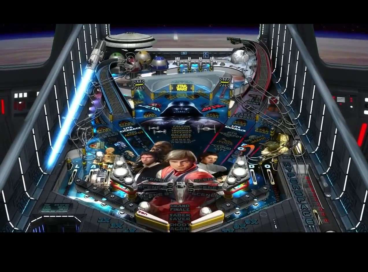 Nouvelle licence Lucasart : Star Wars Pinball Image711