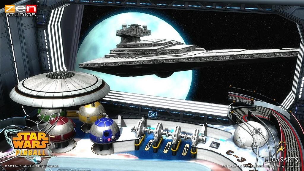 Star Wars Pinball Strbac16